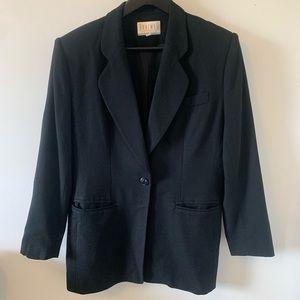 VINTAGE / Black / Pure Wool / Blazer
